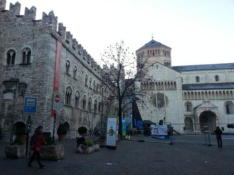 Trento city centre