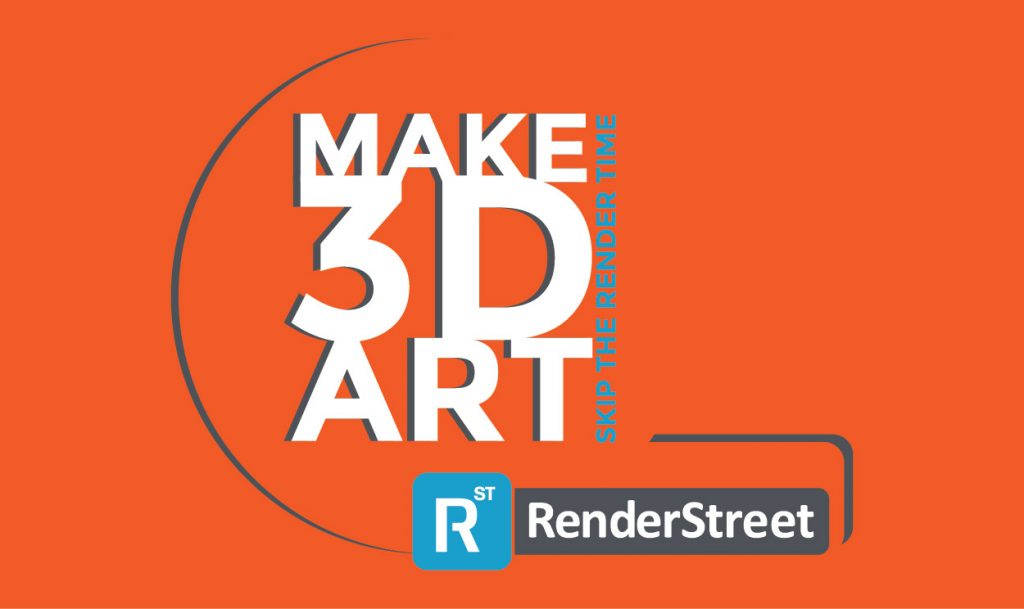 Make 3D art. Skip the render time.