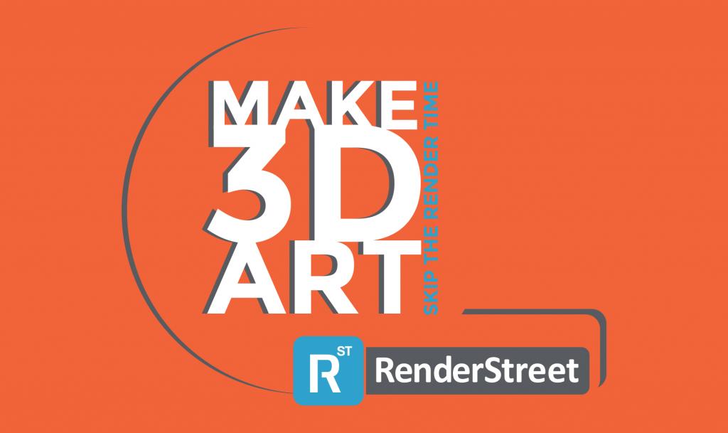 make 3d art