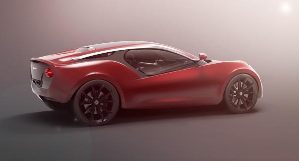 Alfa Roméo Doppiezza 3D model