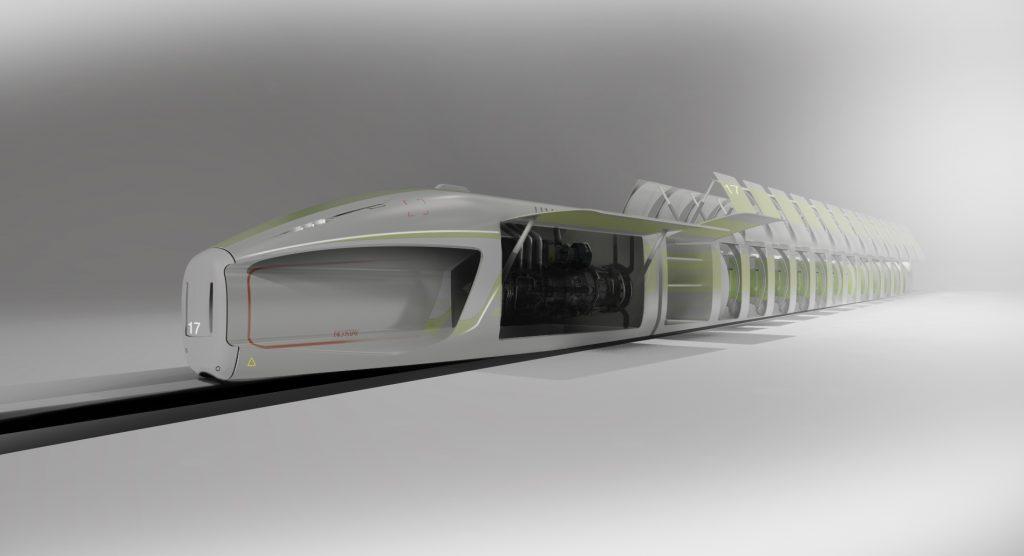 Hyperloop school project