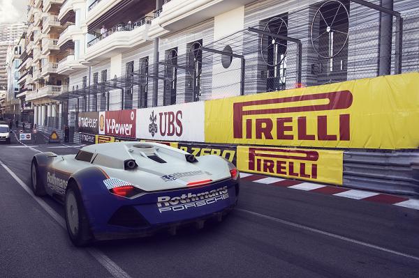 Porsche Fender 3D render