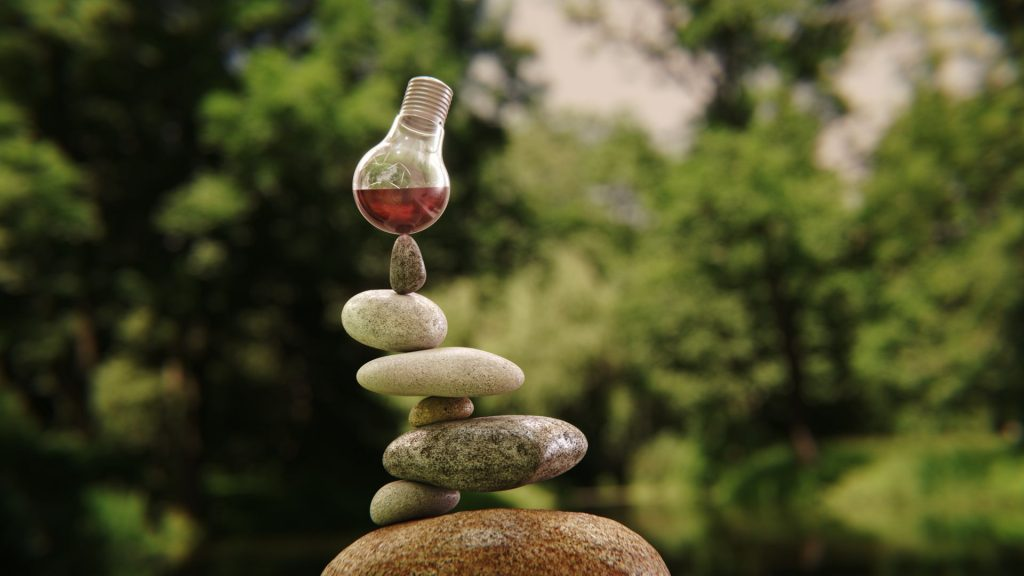 Stone Stack - with materials from CMV